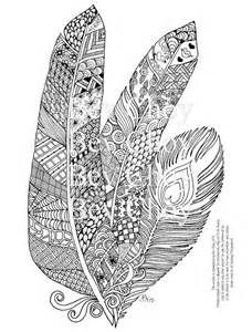 Coloring Pages for Adults feathers - Bing images