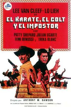 Blood Money aka El kárate, el Colt y el impostor (3 stars) - Even though I didn't care for the Van Cleef character, this mash up of spaghetti western and kung-fu movie worked for me. Lieh Lo carried the movie, as a young man out to return honor to his family by finding a hidden treasure that they were entrusted with. Worth a look if you can find it.