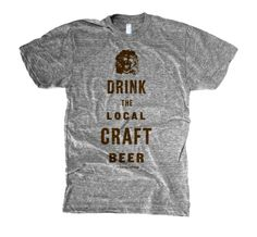 Or a Lion will eat you.  Great lakes mean great water which means...great beer.   Via. The Social DEPT LLC.