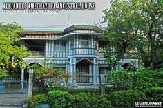 Silay-City Amechazura Ancestral House Philippine Houses, Mindanao, Old Houses, Philippines, Home Goods, Amazing Houses, Island, Mansions, Interior Design
