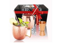A #Moscow Mule mug will certainly help you to enjoy the cocktail much more.