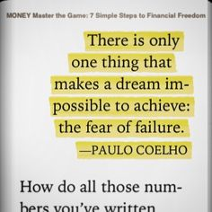 Do livro: Money Master the Game de Tony Robbins #ler #lendo #livro #livros #book #books #money #dinheiro #quote #quotes #frase #frases #citacao #pensamento #empreeder #empreendedorismo