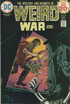 Weird War Tales #30