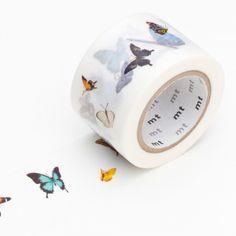 Butterflies Washi tape / Whasi tape de mariposas