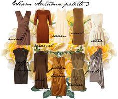 """Warm Autumn palette 3"" by carolgrant on Polyvore"