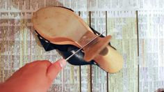 How to Replace your Shoe Sole