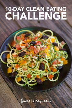 10-Day Clean Eating Challenge: Week 1 Meal Plan #10daysofclean #healthy #recipes
