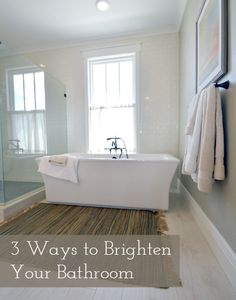 When we moved into this house, I knew that one of the top priorities would be to add lighting to my kiddies bathroom. It is on the inside of the house, so there is no window, and the builder did n...