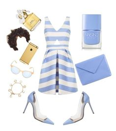 14 by lynnise0409 on Polyvore featuring polyvore, fashion, style, Topshop, Gianvito Rossi, Acne Studios, Tory Burch, Garrett Leight, Goldgenie, Marc Jacobs and Nails Inc.