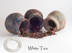 White tea is mainly grown in China where very young tea leaves are selected and carefully harvested. The name white comes from the white coloured hairs found on these young leaves. White tea is known to have a more delicate and earthy flavour when compared to other tea varieties. Tea Varieties, Earthy, Harvest, Tea Cups, Candle Holders, Delicate, Hair Color, Leaves, China