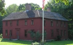 The Christopher Leffingwell House, Norwich, Connecticut was a tavern where General George Washington occasionally stayed.  Leffingwell was a merchant and entrepreneur as well as a deputy commissary to the Continental Army.
