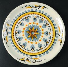Pier 1 Karima Salad Plate  sc 1 st  Pinterest & International Tableworks Stoneware China Strawberry Fair Dinner ...