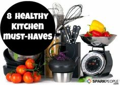 8 Useful Kitchen Tools for the Healthy Cook