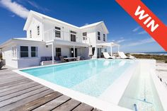 Win a Weekend at Pearl Bay Beach Villa in Yzerfontein Worth 000 Beach Villa, Beach House, Weekends Away, Beaches In The World, Africa Travel, Modern Luxury, Open Plan, West Coast, Places To Go