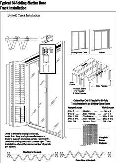 Design Shutters - Bi-Fold Plantation Shutters and Sliding Glass Doors