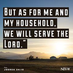 NIV Verse of the Day: Joshua 24:15
