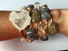 This bangle stack is perfection