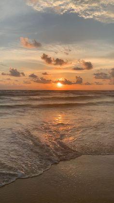 Beach Sunset Wallpaper, Ocean Wallpaper, Nature Wallpaper, Sunset Beach, Sunrise And Sunset, Beautiful Beach Pictures, Sunset Pictures, Nature Pictures, Beautiful Beaches