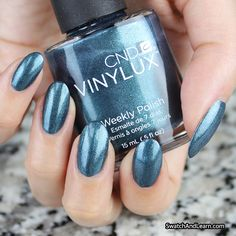 Cozy up to CND Vinylux Fern Flannel from the Craft Culture Collection! (See swatches of the entire collection on SwatchAndLearn.com.)