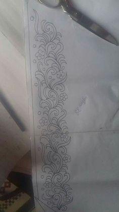 Faisal Husain Designer's media content and analytics Hand Embroidery Design Patterns, Hand Embroidery Videos, Tambour Embroidery, Ribbon Embroidery, Floral Embroidery, Machine Embroidery Designs, Embroidery Stitches, Arte Popular, Facebook