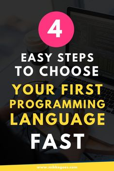 These practical steps help you find the perfect first programming language more easily to save time and money and to learn coding faster. Coding Websites, Coding Courses, Learn Computer Science, Computer Coding, Coding Languages, Programming Languages, Learn Programming, Computer Programming, Technology Careers