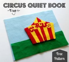 Blown away! Love the idea of this circus quiet book. Love felt activity books anyway, but this circus series looks amazing.