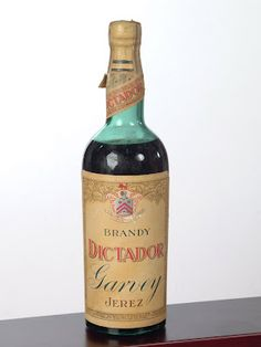 "Product Name: Brandy ""Dictador""    Appelation: Bodegas Garvey Jerez    Variety: Brandy    Country of origin: Spain"