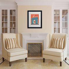 Trademark Fine Art Paris, France Iii Canvas Art by Anderson Design Group, White Matte, Black Frame, Size: 16 x 20