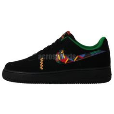 Nike Air Force 1 Urban Jungle Gym Black 2014 New Mens Classic Casual Shoes AF1