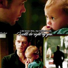 "#TheOriginals 3x22 ""The Bloody Crown"" - Klaus and Hope"