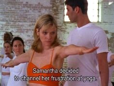 sex and the city yoga The Words, Clueless Quotes, Film Quotes, Anger Management, My Mood, Mood Quotes, Workout, Thoughts, Feelings