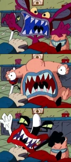 Ahh!! Real Monsters :)