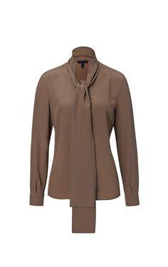 Блузка Nuni ESCADA эксклюзивно в новом ИНТЕРНЕТ-МАГАЗИНЕ ESCADA. Заказать дизайнерскую одежду класса люкс в интернет-магазине ESCADA.