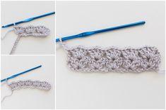 "Sweet as Snow"" Crochet Baby Blanket Tutorial – Free Crochet Pattern (Pinwheel Cottage) Crochet Baby Blanket Tutorial, Baby Afghan Crochet, Crochet Motifs, Crochet Stitches Patterns, Free Crochet, Crochet Blankets, Baby Blankets, Crochet Baby Cocoon, Iris"