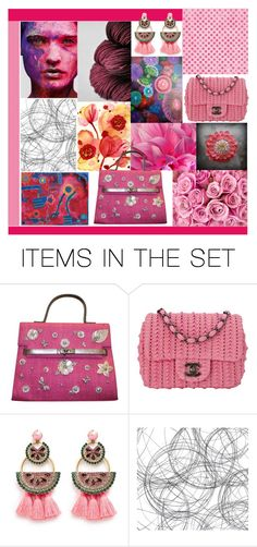 """""""Flowers & Patterns"""" by crystalglowdesign ❤ liked on Polyvore featuring art"""
