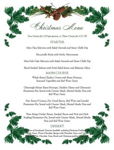 free printable menu templates christmas menu templates free page not