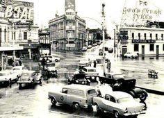 St Kilda Junction in Victoria in 1962.