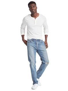 Gap Athletic Taper Fit Jeans - $59.95