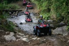 Costa Rica tourism and travel bureau - Monteverde ATV Tour