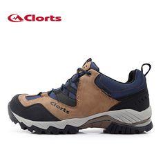 106.94$  Watch now - http://alitvp.shopchina.info/1/go.php?t=32719632738 - 2016 Clorts Men Hiking  Real Leahter Outdoor Shoes Waterproof Nubuck Trekking Shoes Mountain Climbing for men  #aliexpresschina