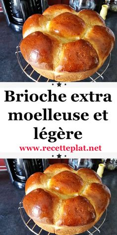 A golden brioche and really smooth and light-weight for the weekend! After a number of tries of brioches, it's this recipe from our staff that I selected to share with you, it's so easy and[. Vegan Dinners, Healthy Dinner Recipes, Gourmet Recipes, Vegan Desserts, Easy Desserts, Vegan Challenge, Types Of Bread, Vegan Meal Prep, Vegan Thanksgiving