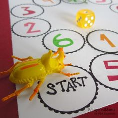 Make a Game for Number Learning- Oh the possibilities!