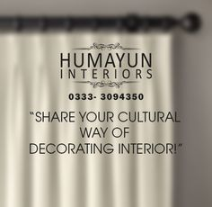 Share your cultural way of decorating interior!  http://www.humayuninteriors.com/ Call us 021-34964523, 021-34991085 Shop no: CA-5,6,7 Hassan center, University Road Gulshan-e-Iqbal Karachi Pakistan  #Banquets_carpets #Commercial_carpets #Office_carpets #Berber_carpets #Loop_carpets #Highpile_carpets #Masjid_carpets #Contemporary_rugs #Area_rugs #Centerpieces #Abstract_modern_rugs #Marquee #Shadihallmarquee #Vinyl #Woodenfloorng #Jaeynamaz #Astroturf_Artificialgrass #Curtains #Window_blinds…