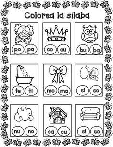 POSTERS y TARJETAS de sílabas iniciales en palabras con ch