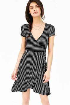 Ballet Surplice Dress - Urban Outfitters - $59