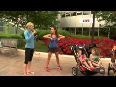 Workout Wednesday: Stroller Strides - YouTube Stroller Strides, Power Walking, Wednesday Workout, Total Body, Program Design, Workout Programs, Baby Strollers, Social Media, Activities