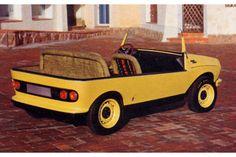 Fiat 128 Teenager (Pininfarina), 1969
