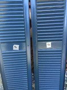 DIY: How to Paint Vinyl Shutters – This Place of Grace Types Of Shutters, House Shutters, Interior Shutters, Window Shutters, Paint Vinyl Shutters, Painting Shutters, Wooden Shutters, Bermuda Shutters, California Shutters