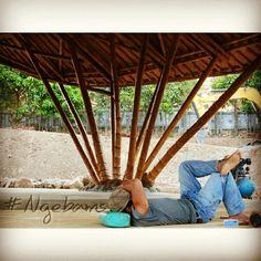 Mengangkat Citra Bambu,. Mimpi kecil kami #Bamboo #GreenDesign #greenarchitecture #Bambubos