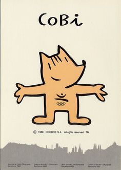 Cobi, Mascota Oficial Juegos Olimpicos Barcelona 1992 by jordipostales, via Flickr